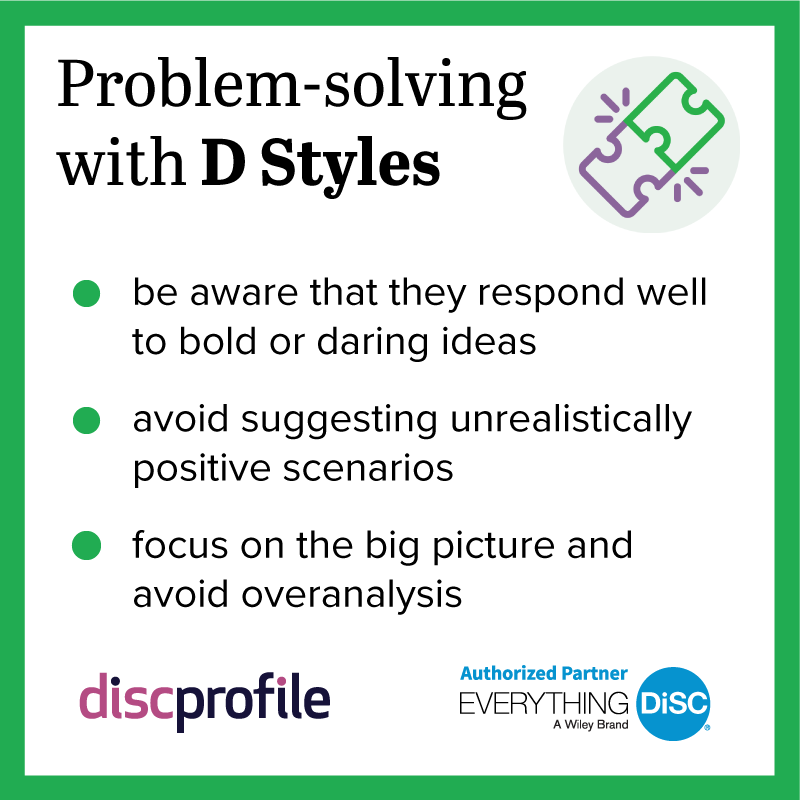 Problem-solving with a D
