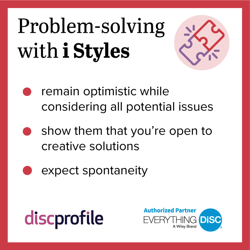Problem-solving with an i