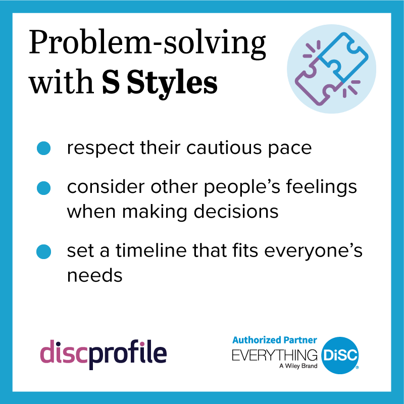 Problem-solving with a S