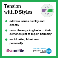 Tension with a D