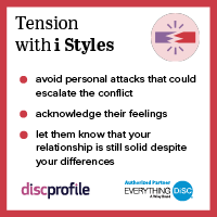 Tension with an i