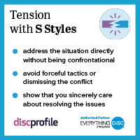 Tension with a S