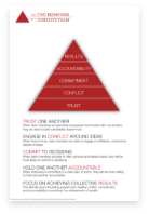 The Five Behaviors Model Overview poster in color