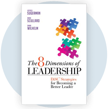 The 8 Dimensions of Leadership book cover